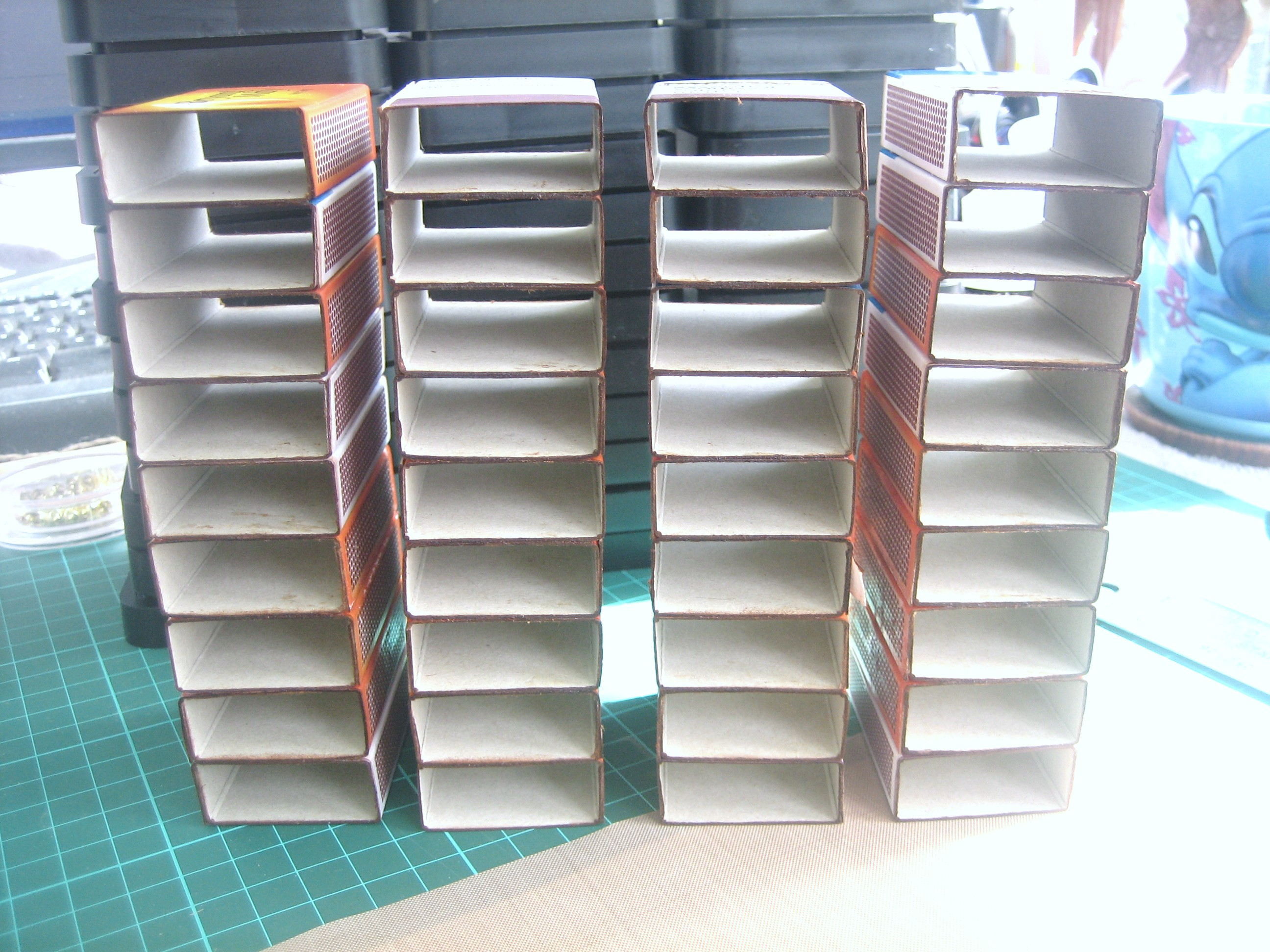Match boxes & Distress Ink Pad Drawers  